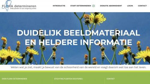 Determineren met flora van Nederland